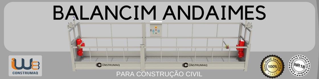 Venda Balancim Andaimes com preço de fábrica para utilização em obras da Construção Civil